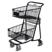Multi-Basket Shopping Cart