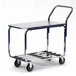 Table Cart - Zinc Top