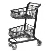 Double Basket Shopping Cart