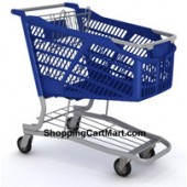 Plastic Grocery Shopping Cart